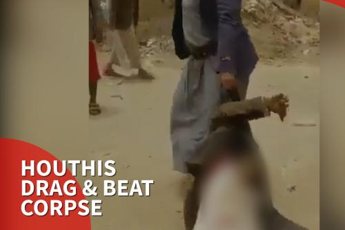 Thumbnail - Houthis killed and dragged ex-member through the streets