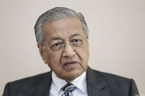 Malaysian Prime Minister Mahathir Mohamad in Ankara, Turkey on 26 July 2019 [Metin Aktas/Anadolu Agency]