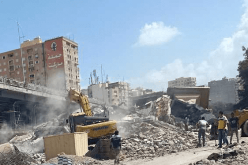 Egyptian authorities demolish Abu al-Ikhlas al-Zarqani Mosque in Alexandria on the grounds that it is blocking the construction of a business in the area. [Twitter]