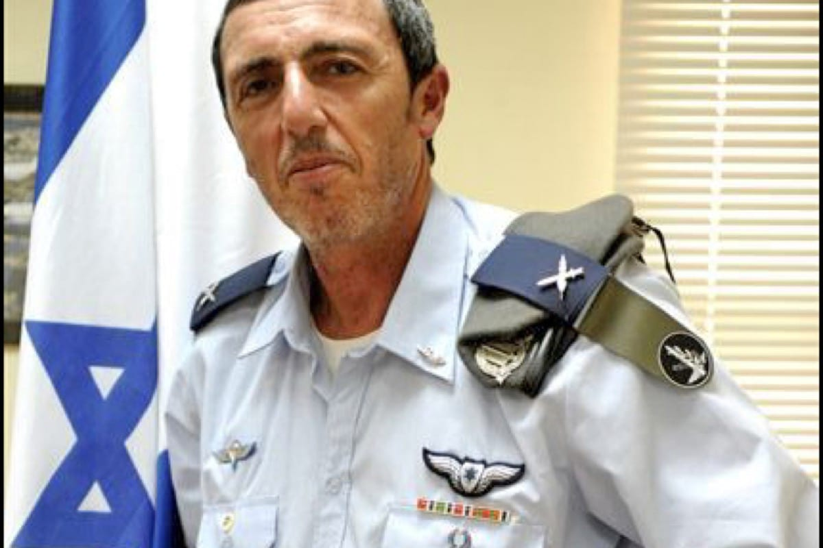 Rafael 'Rafi' Peretz, the former chief rabbi of the Israeli army, and current Israeli Education Minister [Wikipedia]