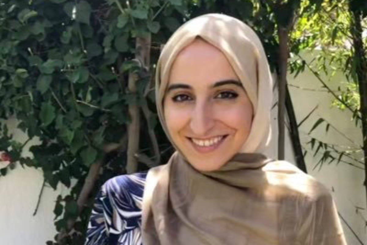Mariem Masmoudi, a member of the constitution-building team of the International Institute for Democracy and Electoral Assistance (International IDEA)