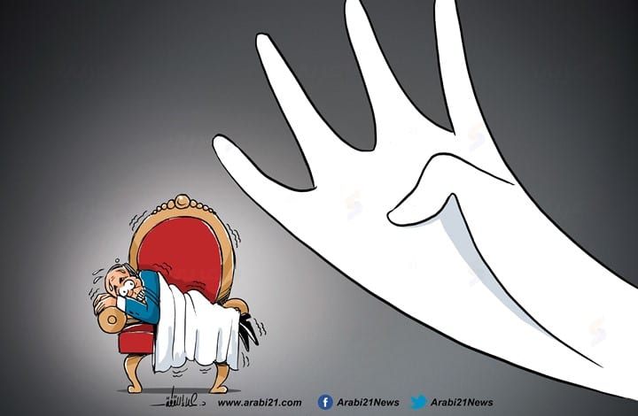 Rabaa will continue to be a nightmare haunting the coup leaders [Cartoon - Arabi21]