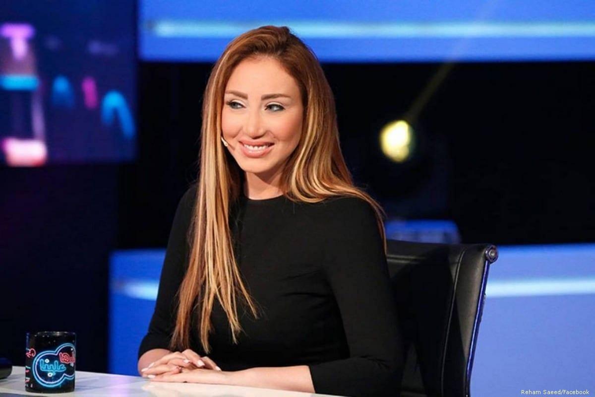 Egyptian TV presenter Reham Saeed