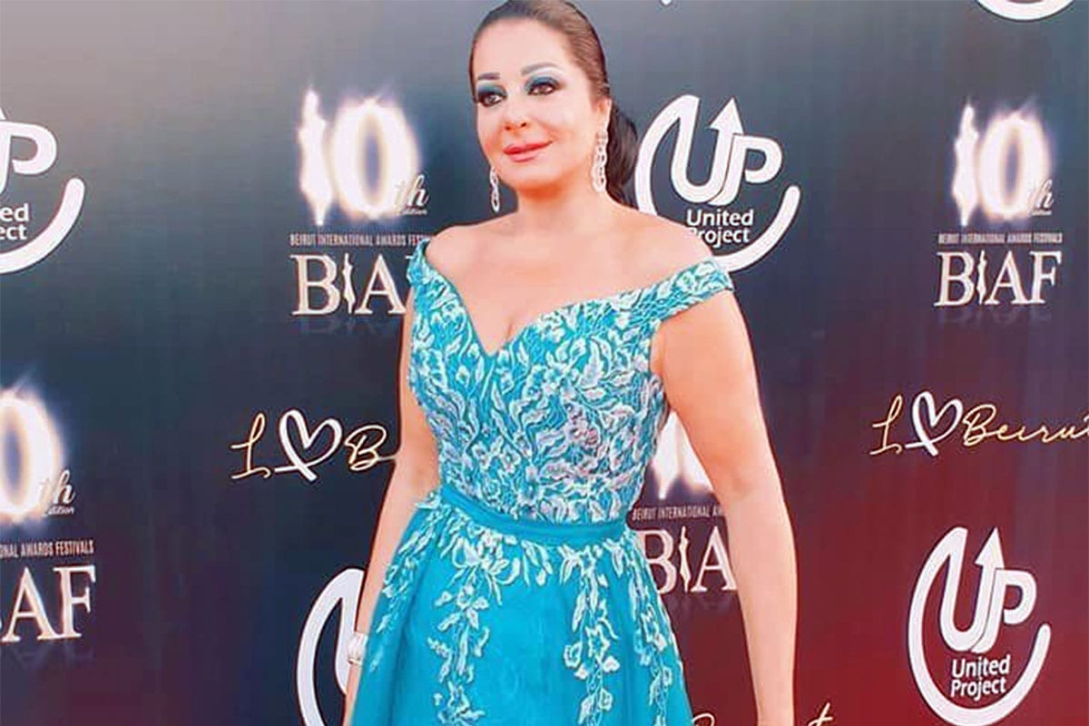 Lebanese actress Soha Kikano seen in an image uploaded on July 20, 2019 [@Sohakikano / Facebook]