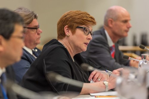 Senator The Hon Marise Payne, Minister of Foreign Affairs of Australia. [Wikipedia]