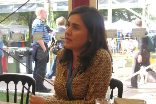 British-Pakistani author Kamila Shamsie