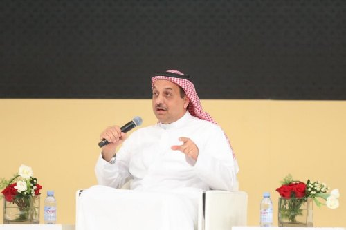 Qatar's Minister of State for Defence Affairs Khalid BinMohammadAl Attiyah in Doha, Qatar on 29 August 2019 [Defence Ministry of Qatar/Anadolu Agency]