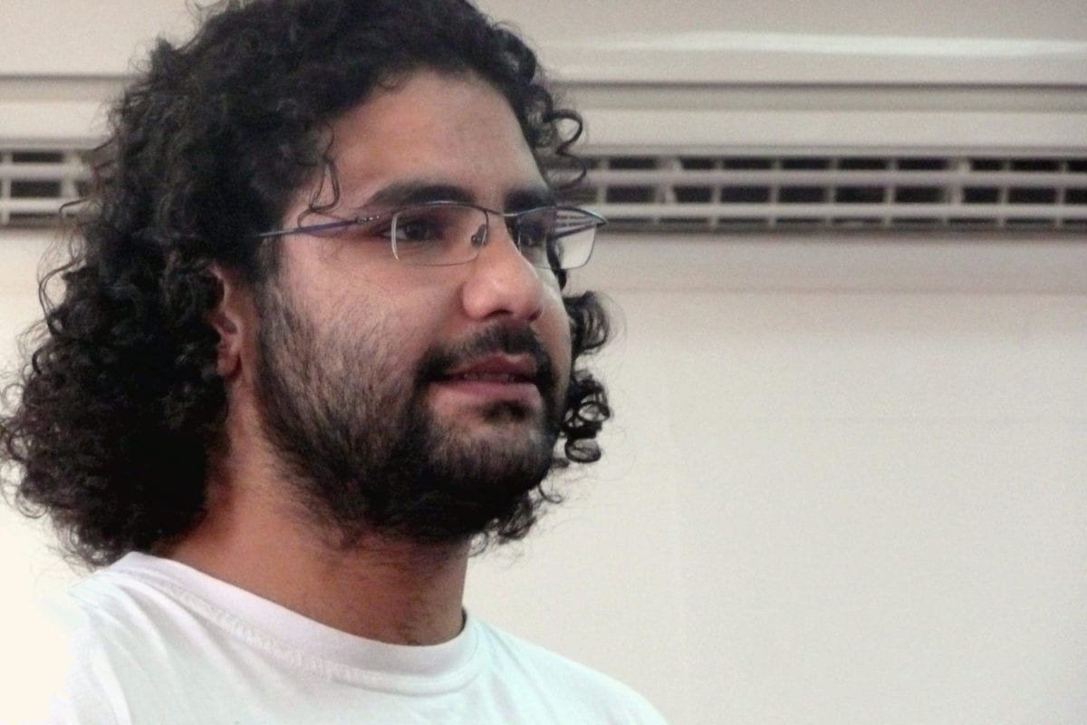 Alaa Abdel Fattah [Wikipedia]