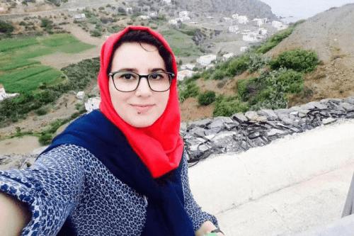 Moroccan journalist Hajar Raissouni [Twitter]