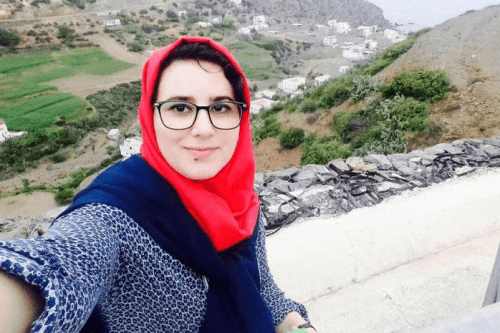 Moroccan journalist Hajar Raissouni [Twitter]