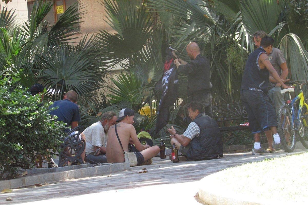Homeless people in Spain [Wikipedia]