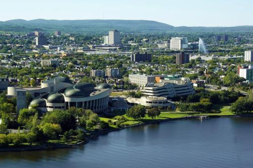 Cityscape and landscape view of Ottawa, Canada