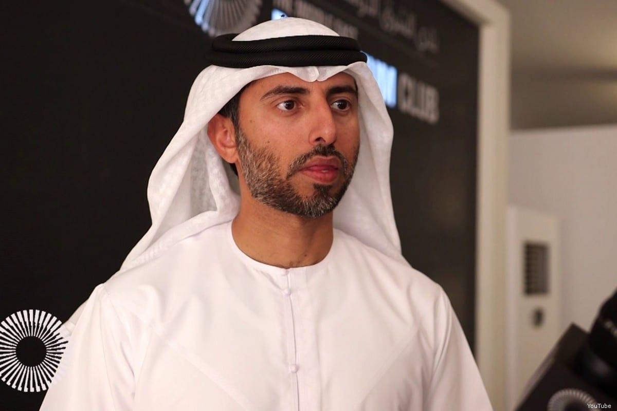 UAE Energy Minister Suhail Al-Mazrouei