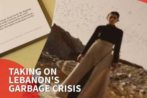 Thumbnail - The fashion designer taking on Lebanon's garbage crisis