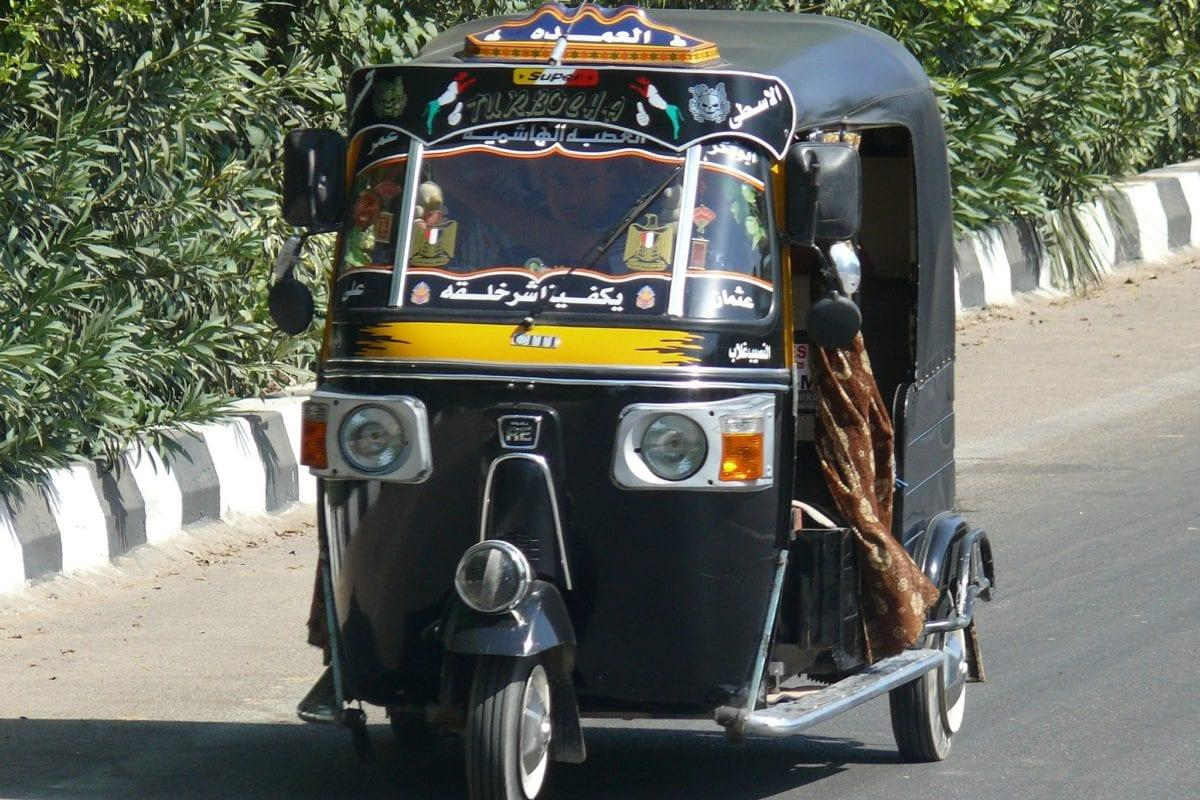 Tuk tuk in Egypt [Wikipedia]