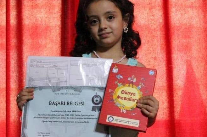 Ten-year-old Syrian schoolgirl Shatha Sabra