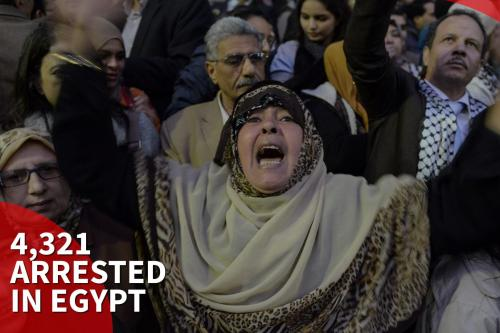 More than 4000 arrested in Egypt