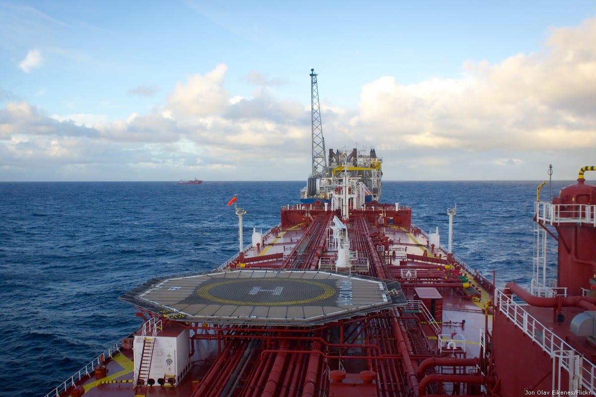 Oil tanker [Jon Olav Eikenes/Flickr]