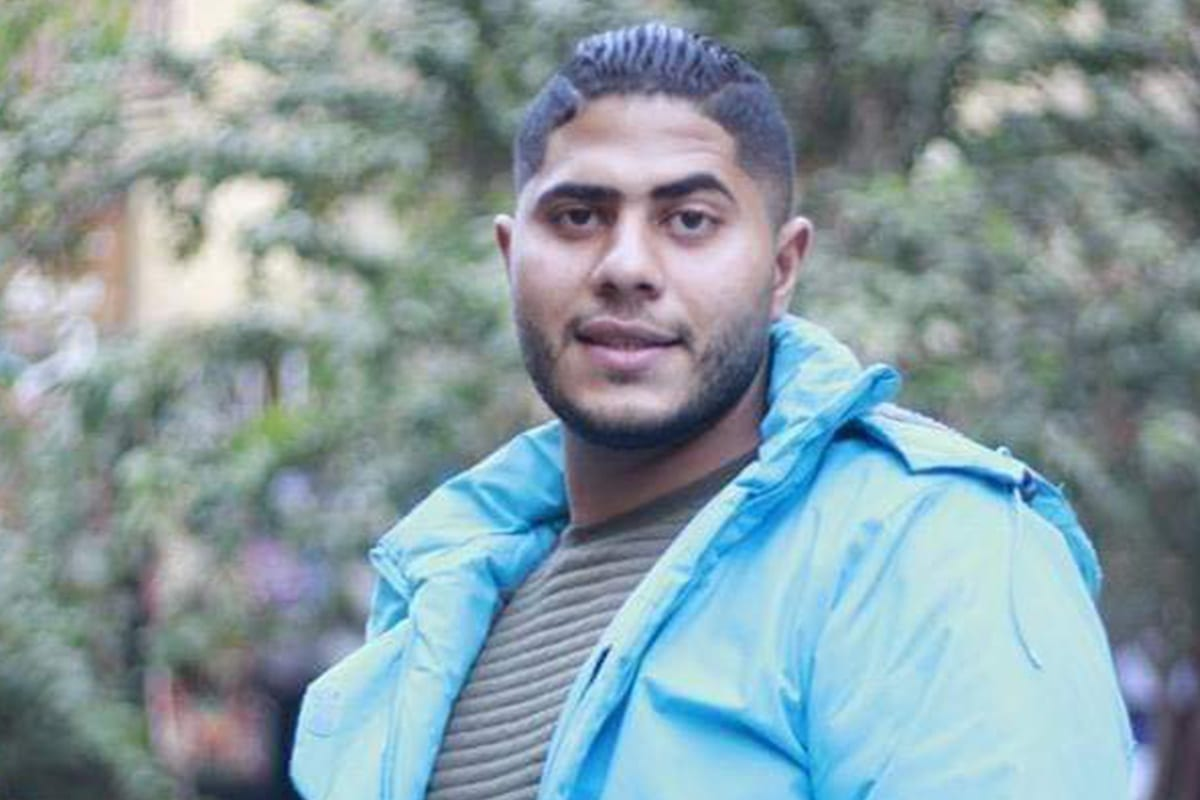 Egyptian Mohamed Eid, 23, died after a conductor ordered him off a moving train