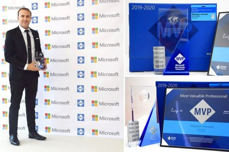 Waseem Awwad has been chosen as one of the top 10 IT and computing experts in the Middle East, receiving Microsoft's Most Valuable Professional (MVP) award in August