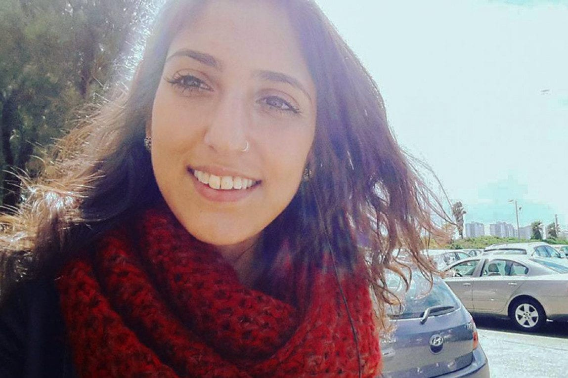 Naama Issachar, 25, was arrested in April while in transit in a Moscow airport, en route from India to Israel, and accused of carrying 9 grams of cannabis [Twitter]