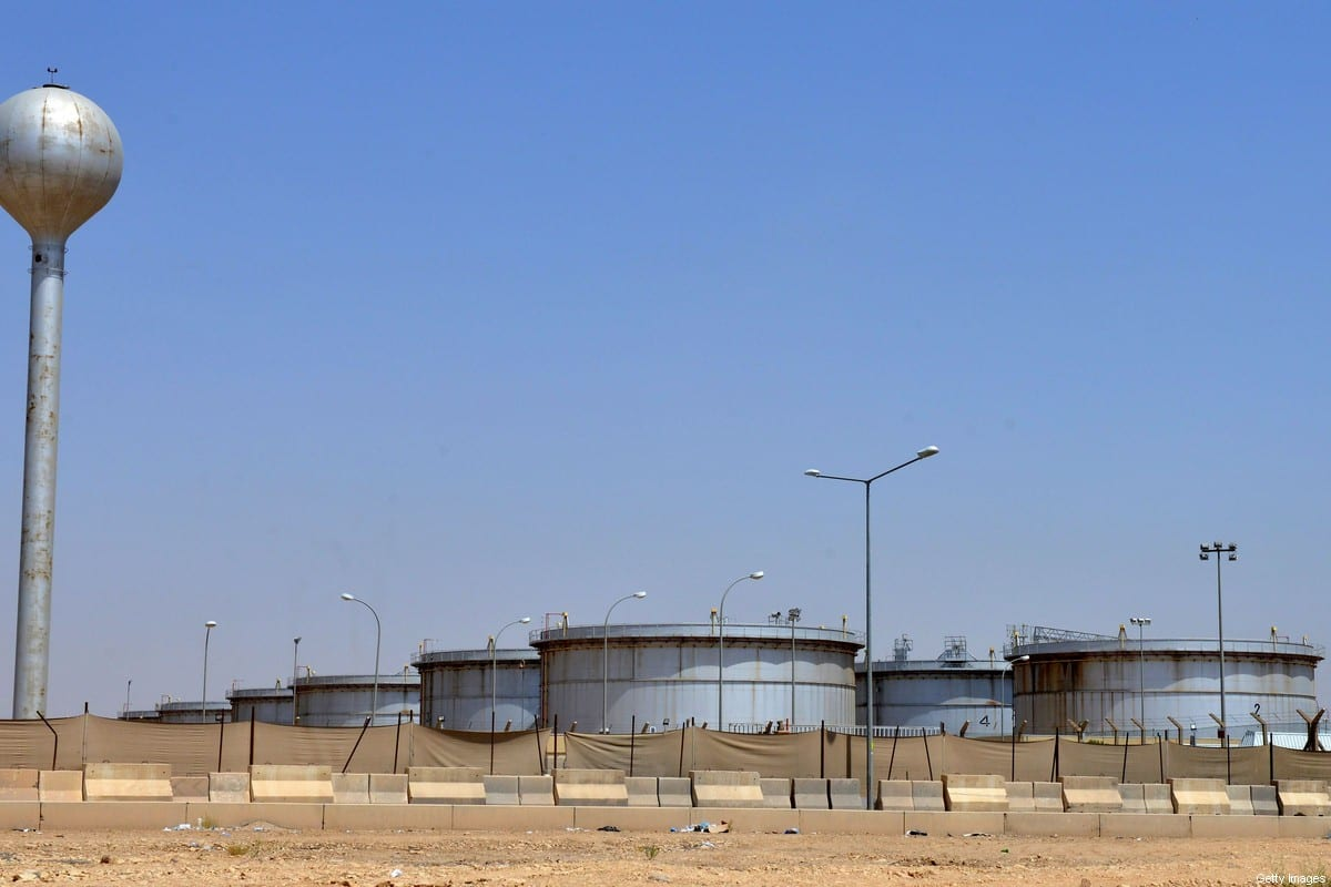 Aramco oil facility in Riyadh, Saudi Arabia on 15 September 2019 [FAYEZ NURELDINE/AFP/Getty Images]