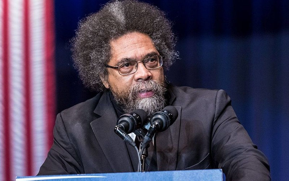 Harvard professor Cornell West