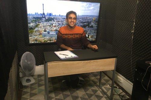 Iyad Alasttal on TV Al-Arab [provided]