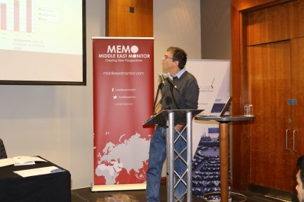Prof Neve Gordon at MEMO and EuroPal Forum conference The Palestine Question in Europe on 23 November 2019 [Middle East Monitor]