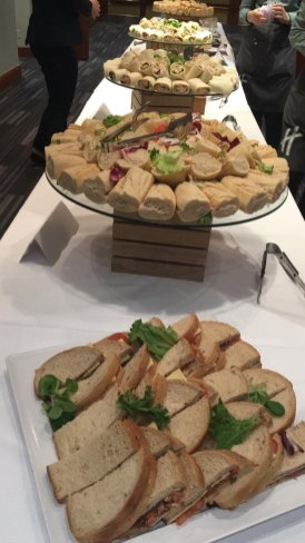 Lunch is served at MEMO and EuroPal Forum conference The Palestine Question in Europe on 23 November 2019