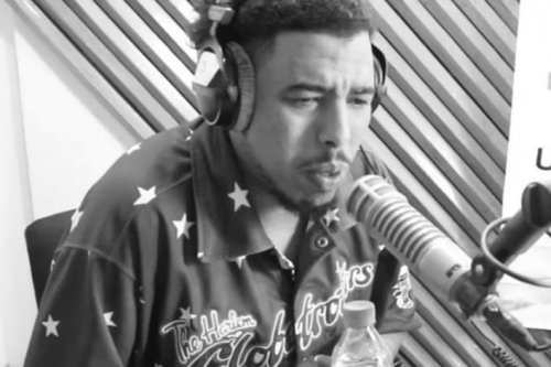 Moroccan rapper Simo Gnawi [Twitter]