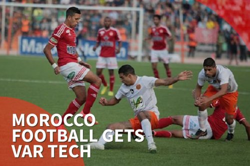 Thumbnail - Morocco football gets var tech
