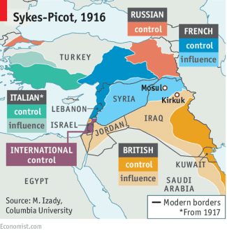 Sykes-Picot agreement [Wikipedia]