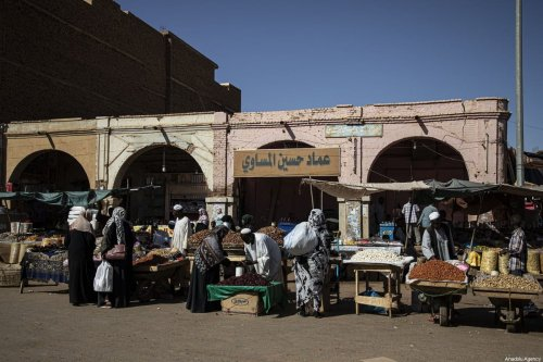 A general view of Khartoum's historical Omdurman Market on December 09, 2019 in Sudan [Mahmoud Hajaj / Anadolu Agency]