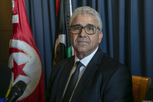 Interior minister in Libya's Government of National Accord (GNA) Fathi Bashagha speaks during a press conference in Tunis, Tunisia on 26 December 2019. [Yassıne Gaıdı - Anadolu Agency]