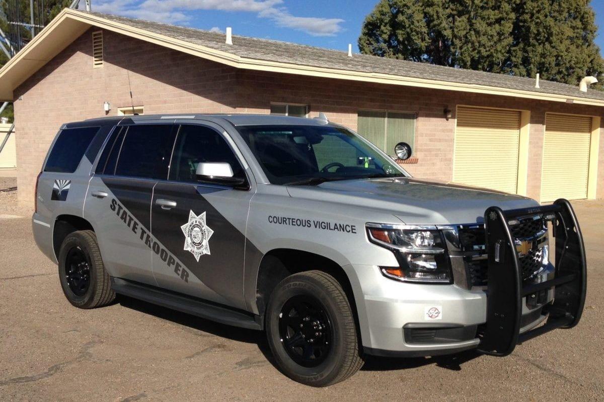 File photo of an Arizona State Trooper vehicle [Arizona Dept. of Public Safety]