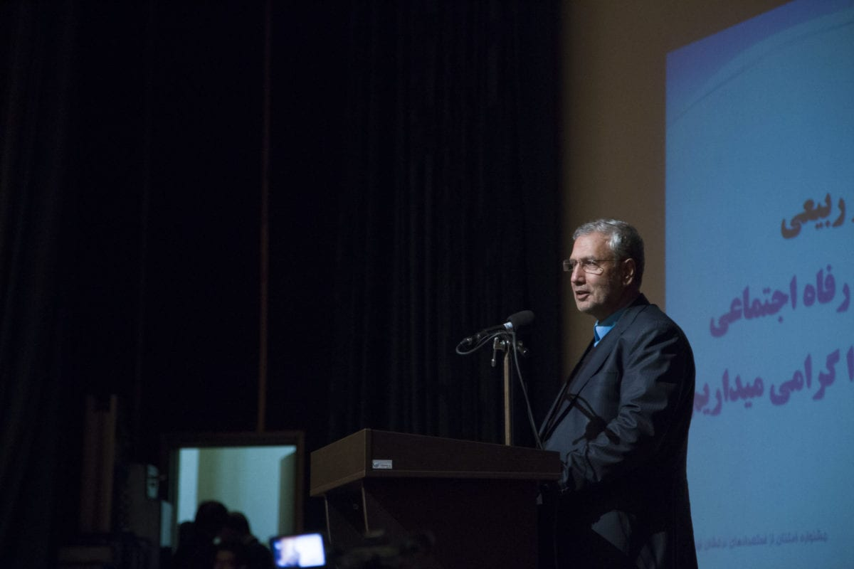 Iranian government spokesman Ali Rabei