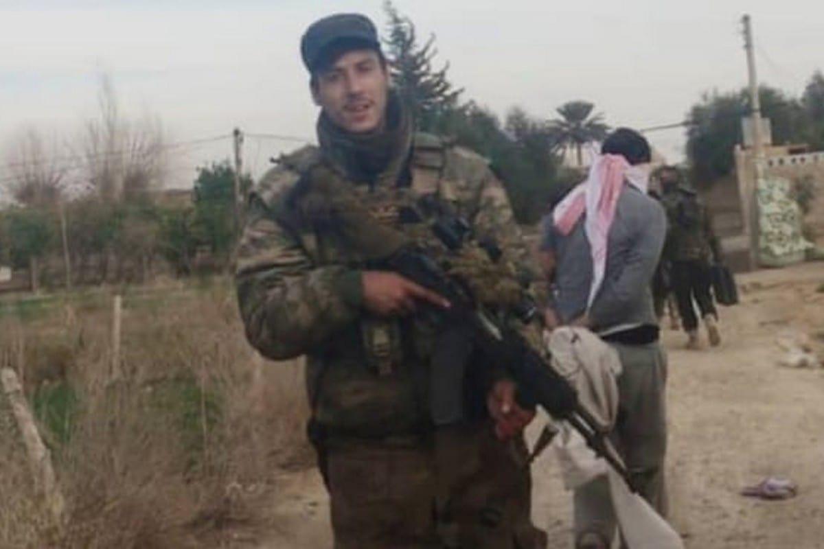Dan Newey, a British citizen who volunteered with the Syrian Kurdish militia the Peoples' Protection Units (YPG) [Dan Newey/Facebook]