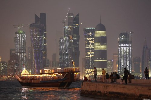 A view of the skyscrapers in Doha, Qatar [Sean Gallup/Getty Images]