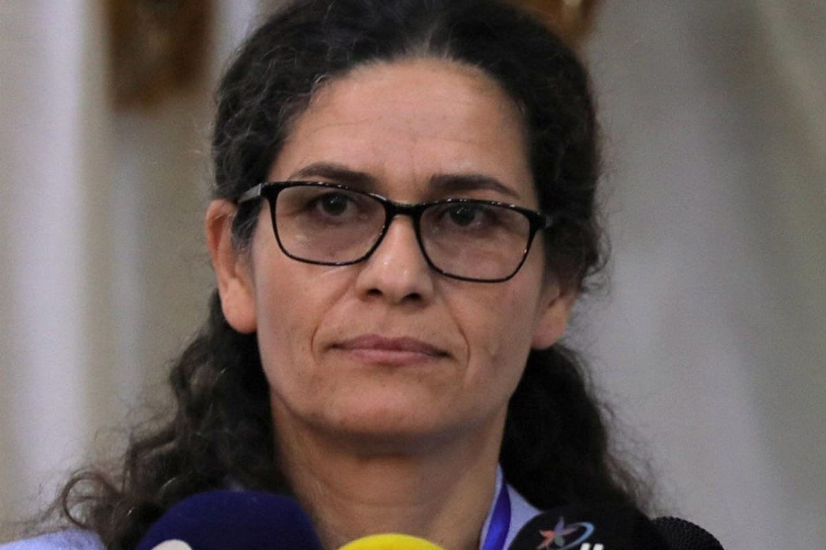 Kurdish official Îlham Ehmed [Wikipedia]