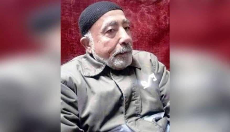 The oldest Palestinian being held in Israeli jails, Major General Fuad Al-Shobaki who turned 80 in March 2019