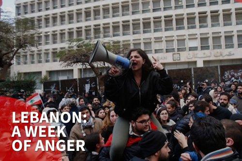 thumbnail - Lebanon protesters unleash 'week of anger'