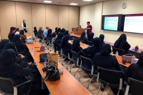 A classroom in Doha, Qatar on 31 October 2019