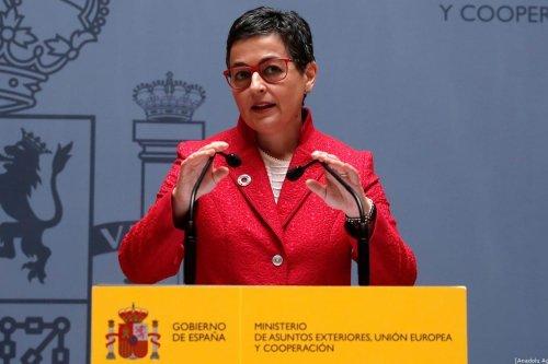 Foreign Minister of Spain Arancha Gonzalez Laya in Madrid, Spain on 13 January 2020 [Burak Akbulut/Anadolu Agency]