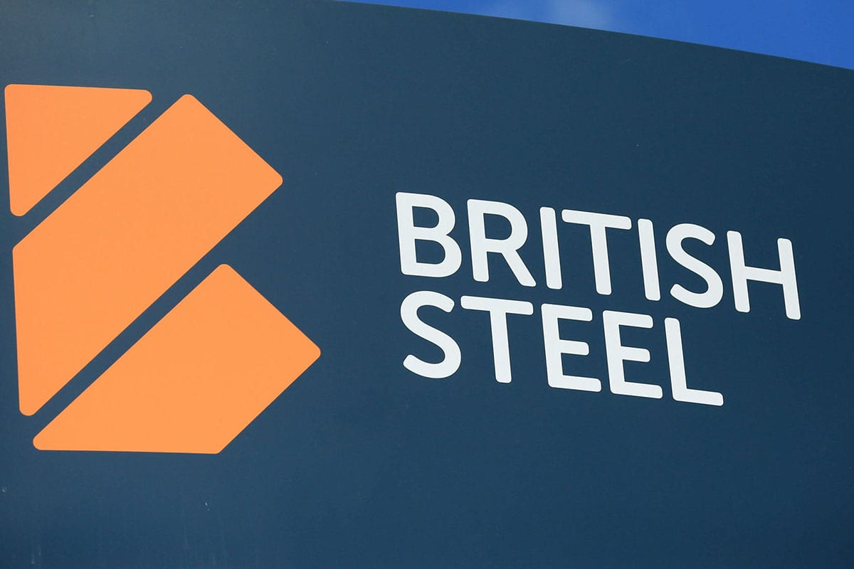 British Steel logo [Twitter]
