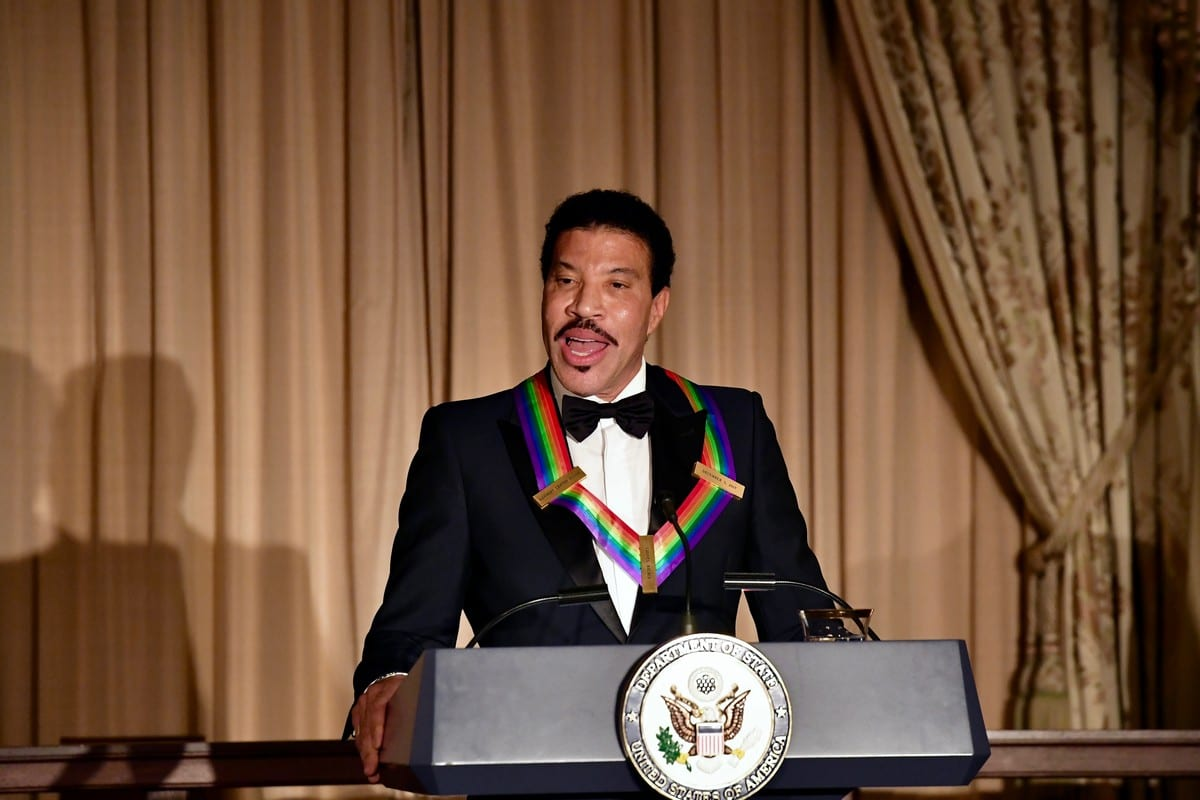 American singer Lionel Richie in Washington, D.C. on 2 December 2017 [State Department Photo/Wikipedia]