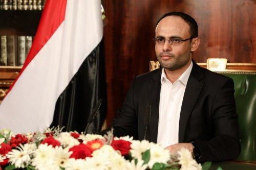 Mahdi Al-Mashat, the president of the Supreme Political Council