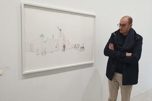 Algerian artist Massinissa Selmani