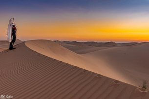 Image taken by Israeli photographer Michael Miki Spitzer in the United Arab Emirates [Facebook]