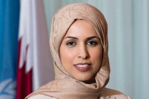 The Permanent Representative of Qatar to the United Nations Sheikha Alya Ahmed Saif Al Thani [Twitter]